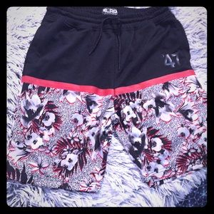 Lifted Research Group Floral Basketball Shorts
